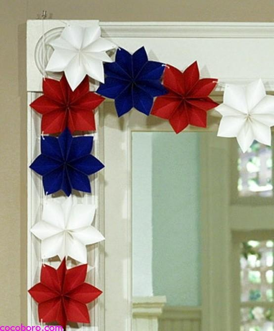 19 Paper Decoration Ideas For The 4th of July 6