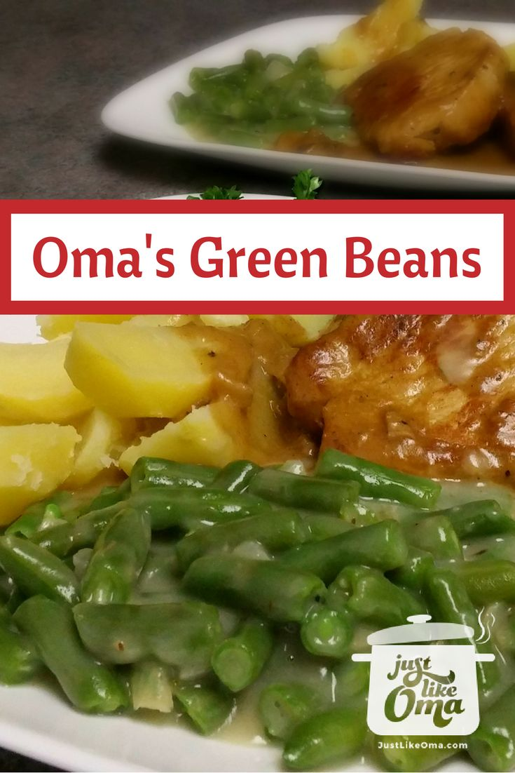 ... recipe: http://www.quick-german-recipes.com/cooking-green-beans.html