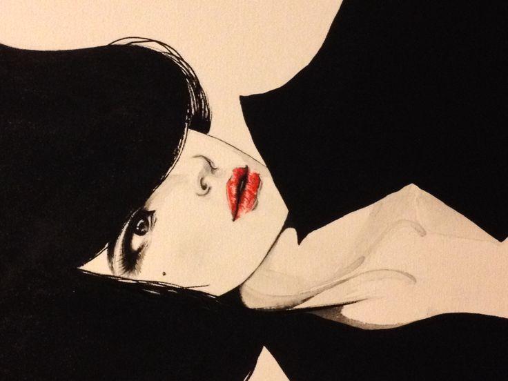 Acrylic on canvas70*90cm