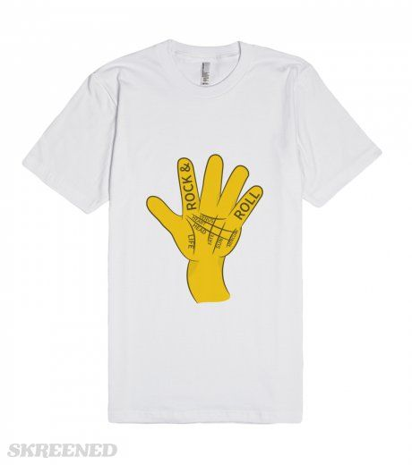 Check out my new design palmistry rock n roll on skreened