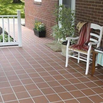 How To Redo Red Quarry Kitchen Tiles