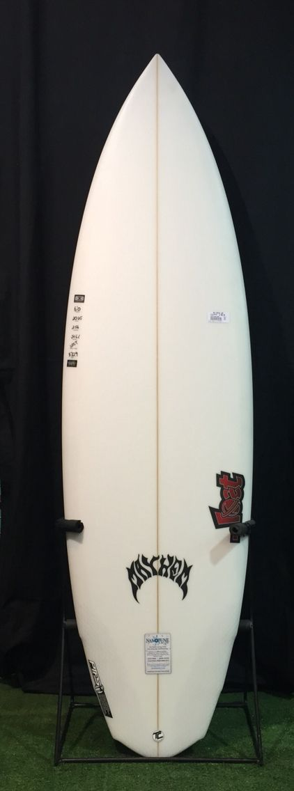 Lost V3 Mayhem 6'0 - RRP $840 RHS PRICE $739 - front