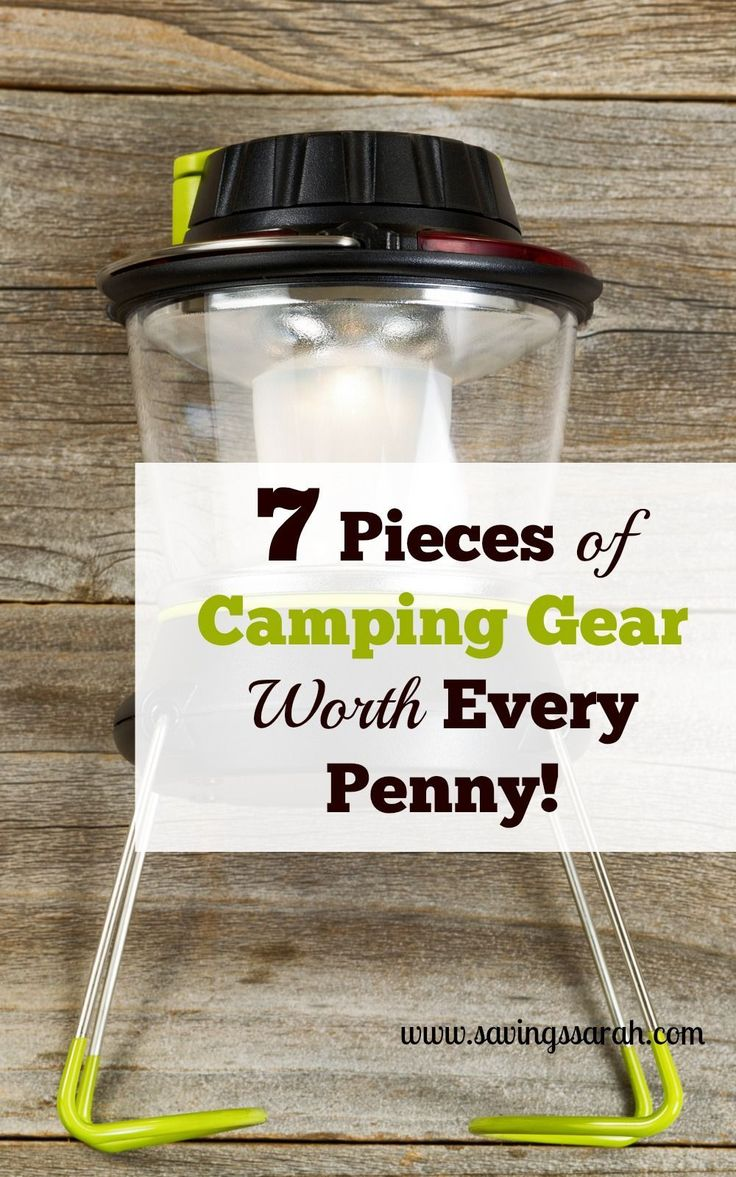 When it comes to camping gear, functionality and quality win over cost savings any day. These 7 Pieces of Camping Gear are worth every penny. #camping #campingtips #campinggear