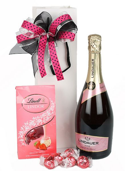 Indulge Mum with Bubbles and Lindt chocs from New World this Mother's Day