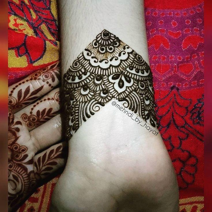 The wrist henna! And the fresh henna stain!  #instashot #nocrop
