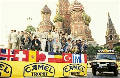 Camel trophy in russia