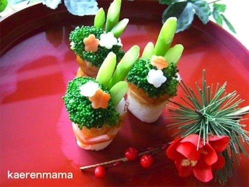 みなさんの家は、門松を飾っていますか?お正月気分を盛り上げる「食べられる門松」ができちゃうんです!                                                                                                                                                                                 もっと見る