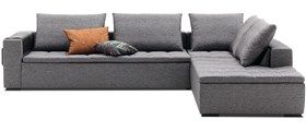 Modern sofas with lounging units - quality from BoConcept