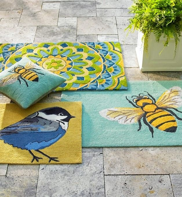 make a fab first impression with allweather doormats