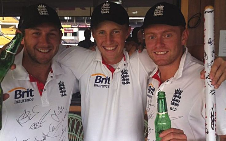 Tim Bresnan, Jonny Bairstow, Joe Root Yorkshire boys