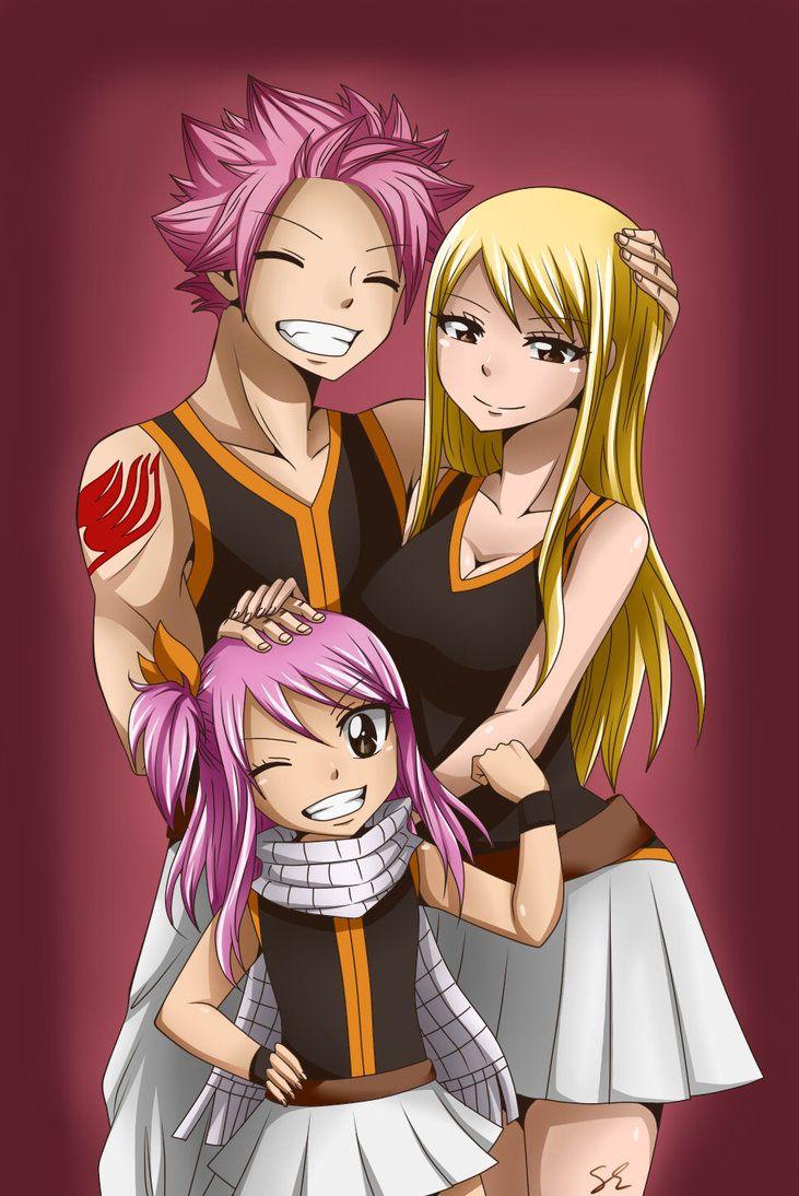 anime fairy tail nalu: Nalu Family By SabZac On DeviantArt