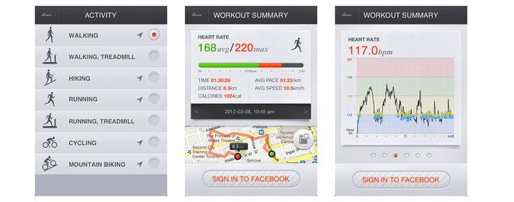 iriverON Smartphone App UI
