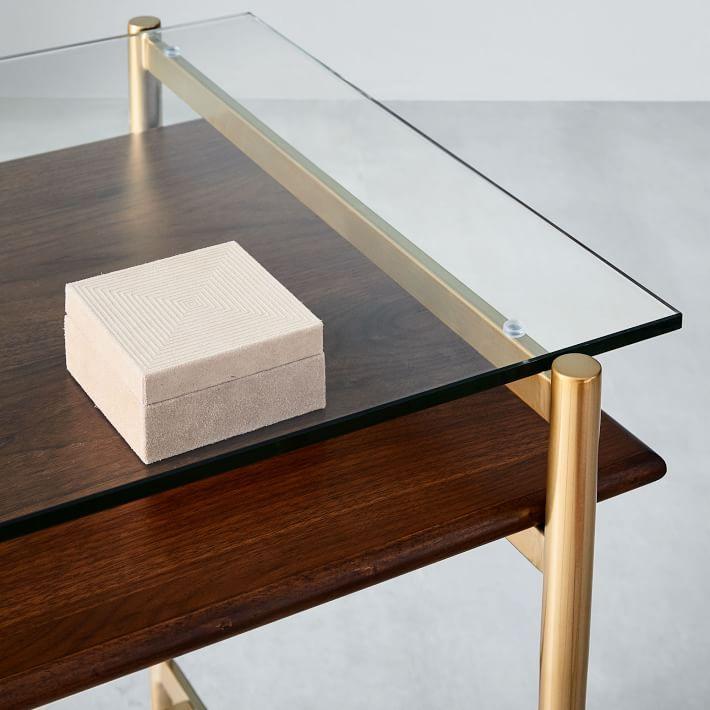 Mid Century Art Display Mini Desk West Elm In 2020 Mini Desk West Elm Desk West Elm Art