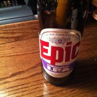 Armageddon IPA - beer bottle