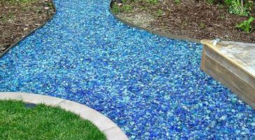 Glass Pebbles Amp Crushed Glass Stone Decorative Stone