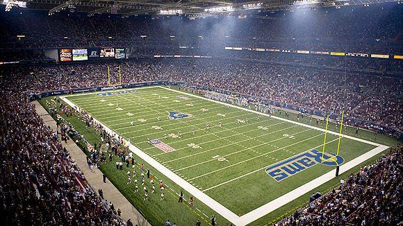 St. Louis Rams, Edward Jones Dome, MO