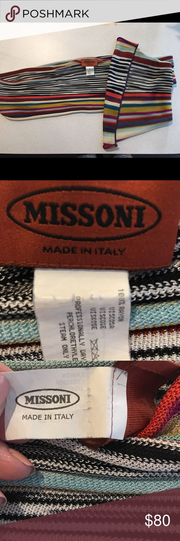 Missoni scarf Perfect condition missoni scarf Missoni Accessories Scarves & Wraps