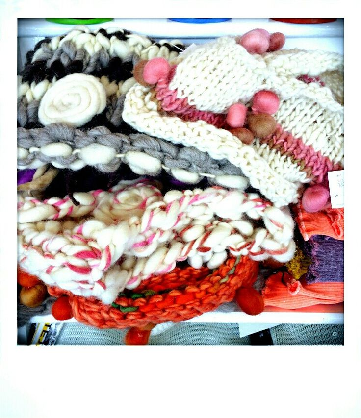 Local wool with natural dyes @ Tienda Colette in Ushuaia