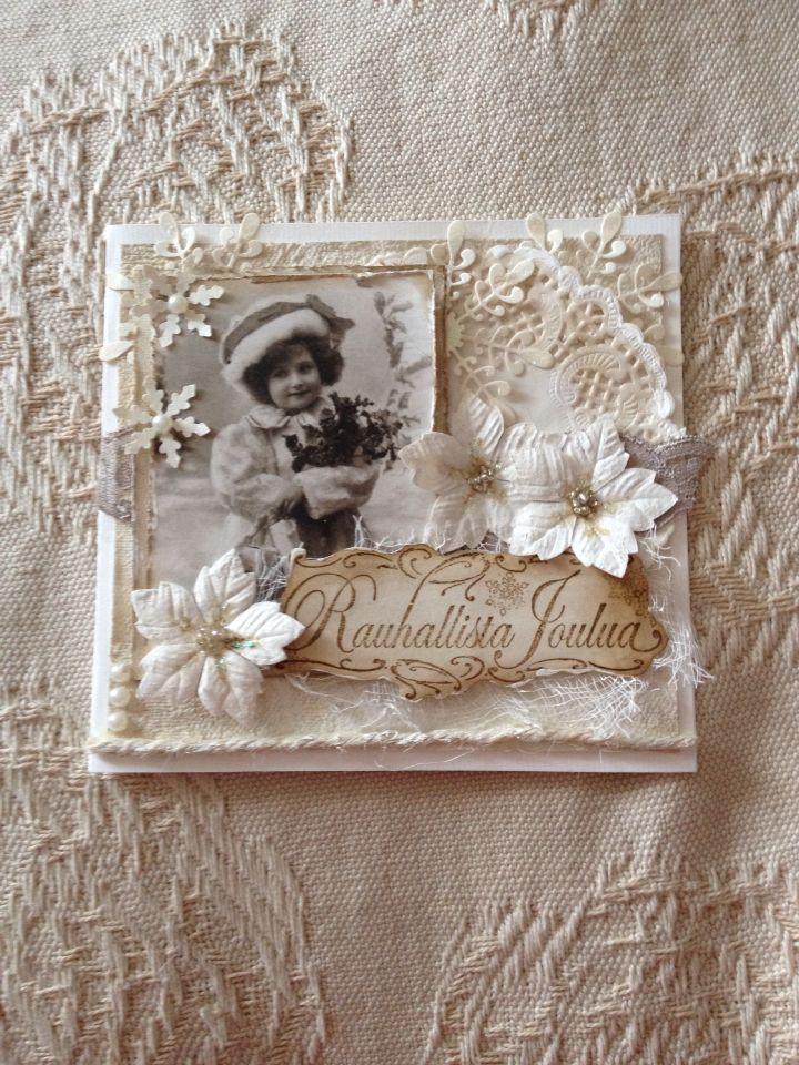 My handmade vintage christmas cards 2014