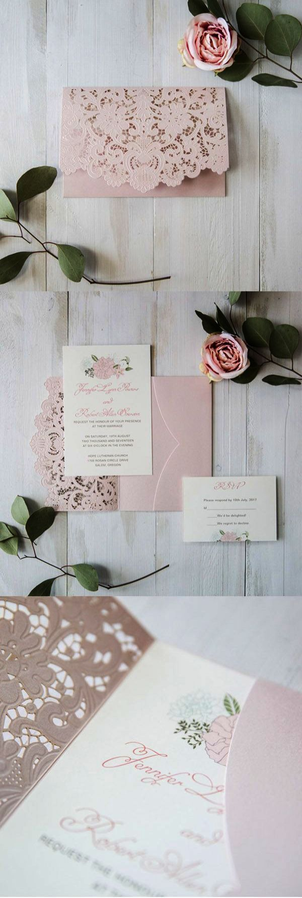 Now thatu0027s sweet u003e DIY Wedding Invitation