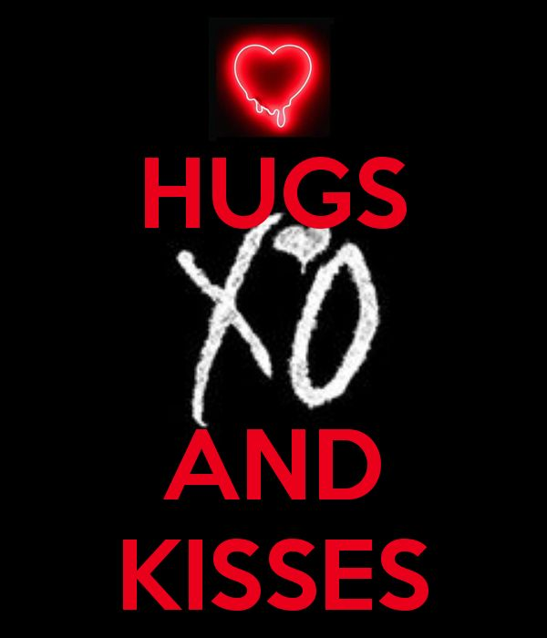 HUGS AND KISSES - KEEP CALM AND CARRY ON Image Generator