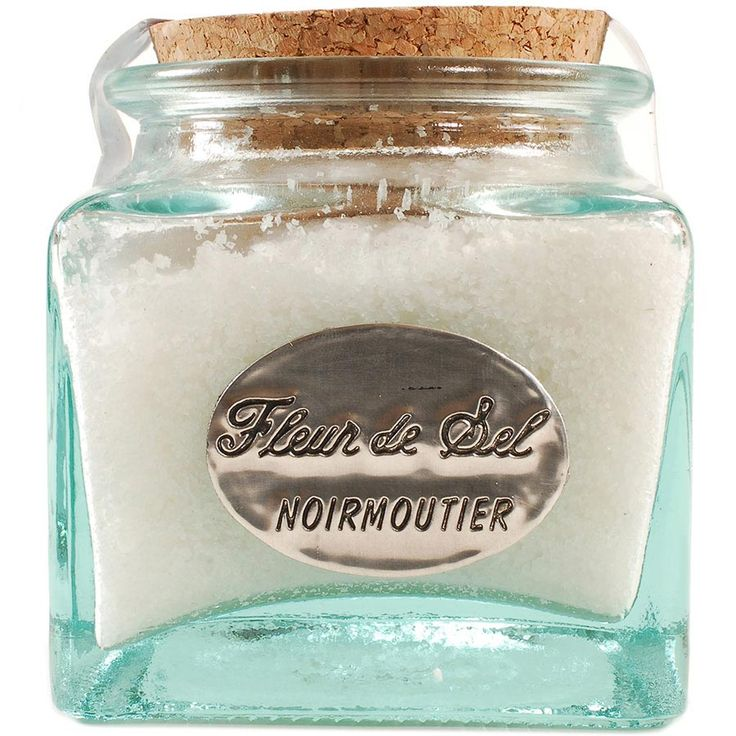 The most sophisticated and refined of all salts, sea salt or Fleur de Sel is a prized culinary ingredient. Gathered  exclusively from the Isle of Noirmoutier, in Brittany, this rare salt crystallizes on beautiful dry days, producing this naturally w