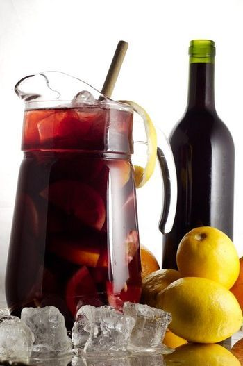 This sangria recipe is perfect for big summer parties and holiday festivities - brimming with fresh fruit, red wine and an optional shot of gin.