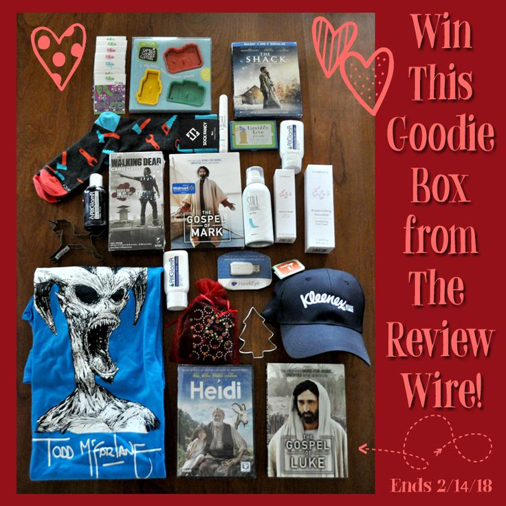 Goodie Box Giveaway (RV $370) Ends 2.14.18  #loveisintheair #giveaways #valentinesday #bloghop #contest