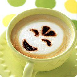 Smiling Coffee. Cute