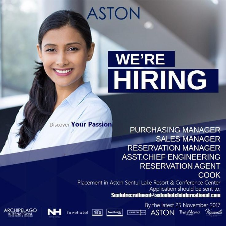 Aston Sentul Lake Resort Jobs News Oct 2017 - Hotelier Indonesia Jobs