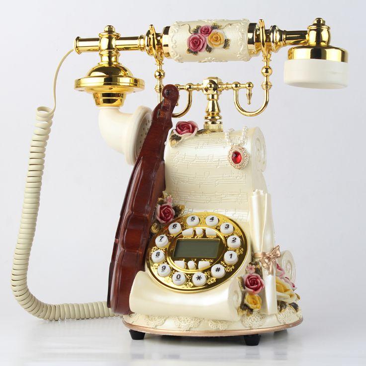 Бренд МЫС Беспроводной карты телефон антикварные моды бытовые старинные ностальгию старомодный телефон стационарный телефон купить на AliExpress