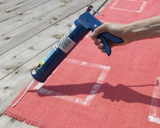Easy DIY Outdoor Rug U2014 How To