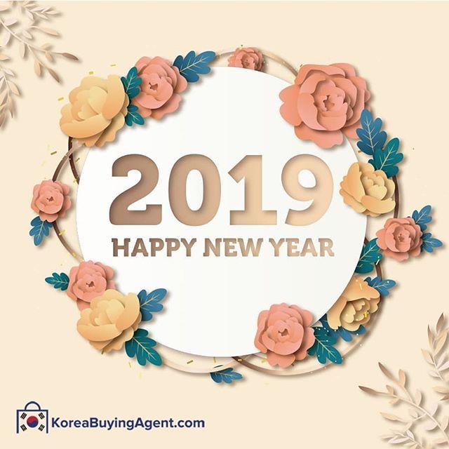 Happy Holidays Korea Buying Agent Wishes You A Very Happy New Year Koreabuyingagent Com Happynewyear Happy New Year Stickers Newyear Happy New Year Images