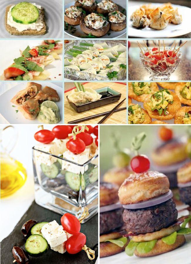 Finger Food Buffet Ideas