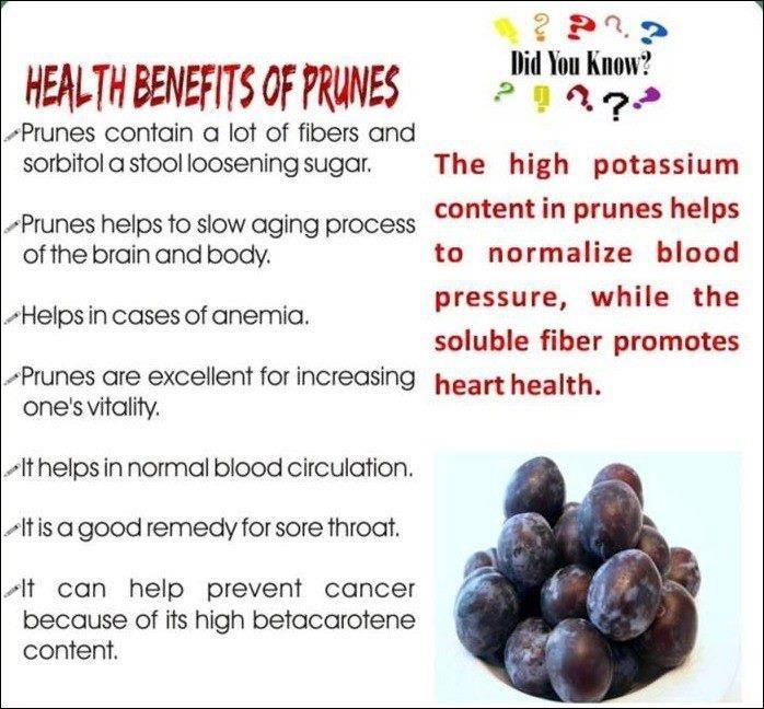 Health Benefits of Prunes  http://www.facebook.com/tridoshawellness  http://www.tridoshawellness.com/