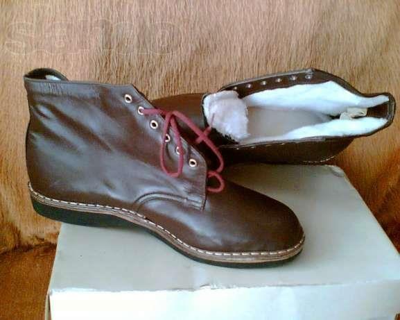 Мужские кожаные ботинки в одессе