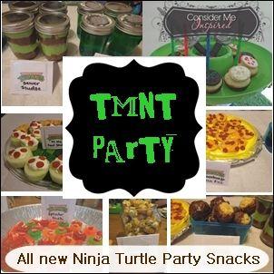 Consider Me Inspired : Teenage Mutant Ninja Turtle Snacks!