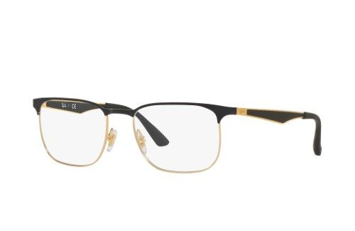 06b63365b6 Ray-Ban Optical 0RX6363 2890 52 Gold Top On Black Active Lifestyle  Eyeglasses