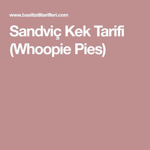 Sandviç Kek Tarifi (Whoopie Pies)