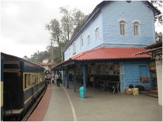 The toy train ride to Ooty.