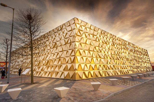 gold souk by liong lie architects at beverwijk bazaar