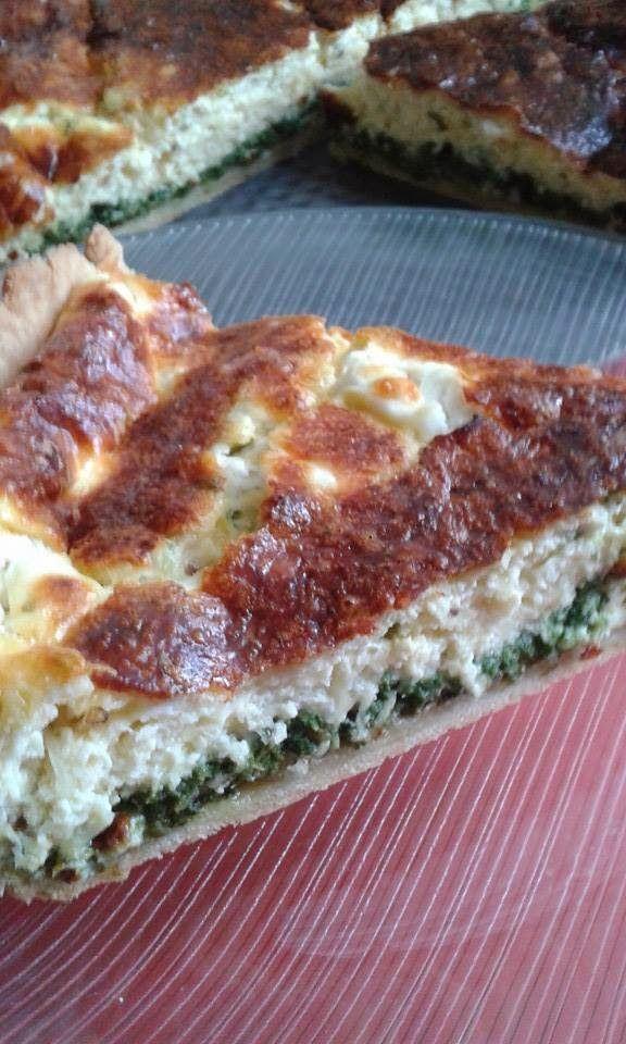 This no all / Disznóól - KonyhaMalacka disznóságai: Spenótos-sajtos pitetorta
