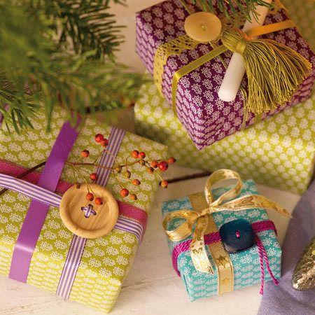 Geschenke verpacken - Präsente kreativ verhüllt - zugeknoepft8  Rezept