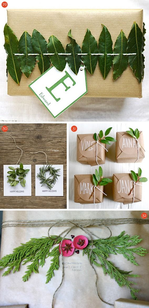 35 #DIY gift tag and topper ideas!
