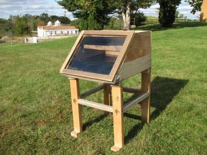 Resultado de imagen para deshidratador solar casero