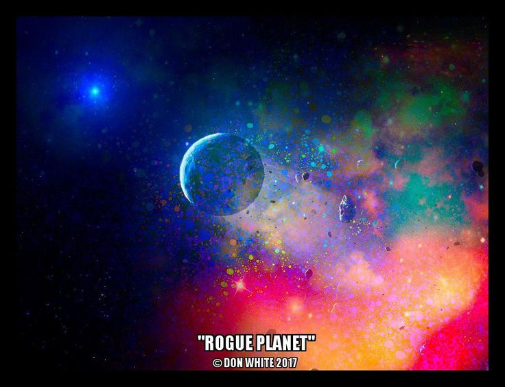 Rogue Planet: Celestial Space Art by Don White