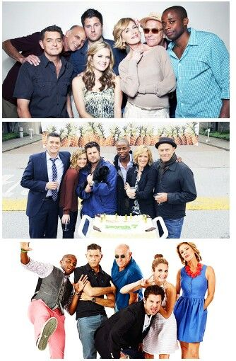 The amazing cast of Psych