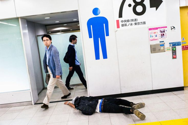 Drunk in Tokyo – Photographer documents the effects of alcohol in Japan | Ufunk.net
