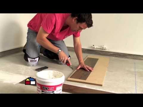¿Cómo instalar piso vinílico en dormitorio? - YouTube