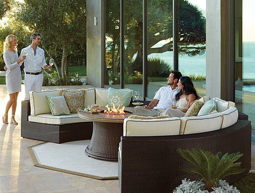 Frontgate Melrose Collection   Outdoor Furniture Sets | Marissa Outdoor  Furniture | Pinterest | Furniture, Furniture Collection And Furniture Sets